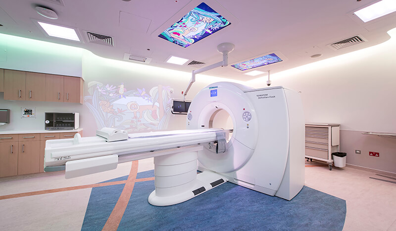 CAT scan machine at Sidra Medicine